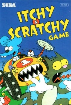 Картридж для Sega Itchy and Scratchy