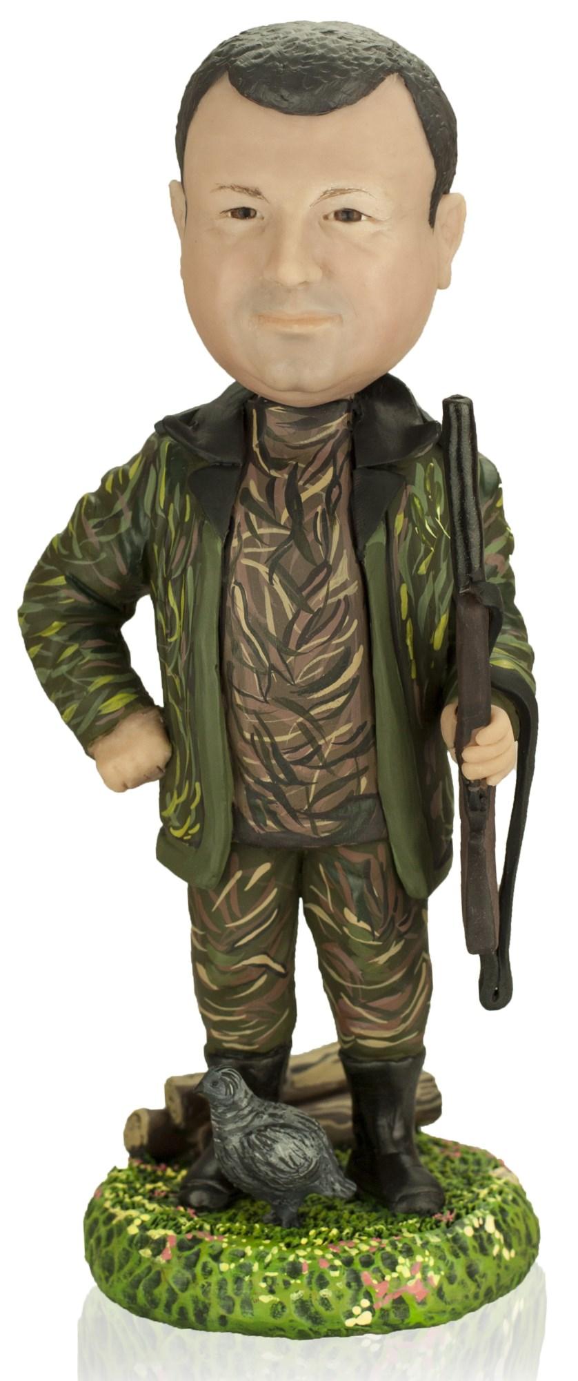 Кукла-шарж по фото «Гроза леса»