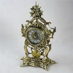Бронзовые каминные часы Пендулино