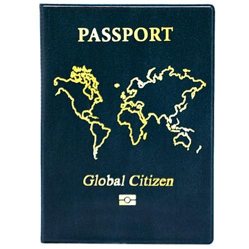 Обложка для паспорта Global citizen
