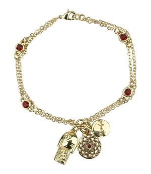 Женский браслет с кристаллами Swarovski Тацуми