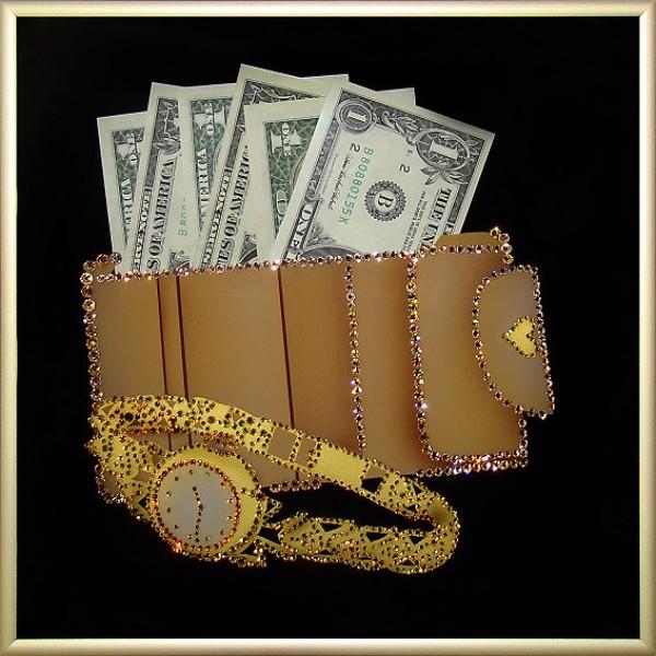 Картина Swarovski Время-деньги