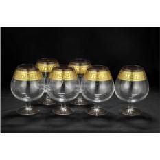 Набор хрустальных бокалов для бренди Версаче
