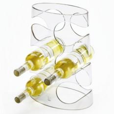 Прозрачная подставка для винных бутылок Grapevine