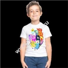 Детская футболка Время приключений (adventure time)