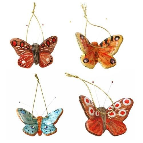 Елочная игрушка Бабочка (в ассортименте )