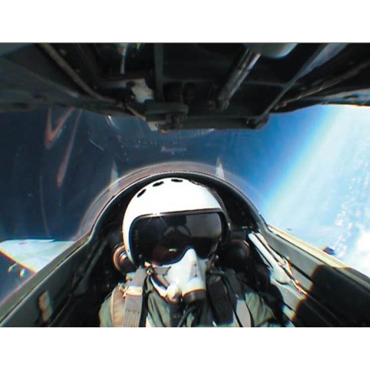 Сертификат: Полет на истребителе в стратосферу