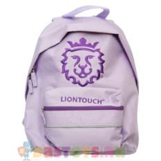 Детский лиловый рюкзак Liontouch