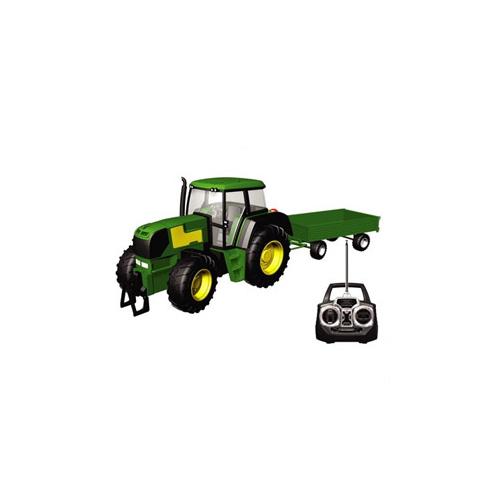 РУ-трактор с прицепом