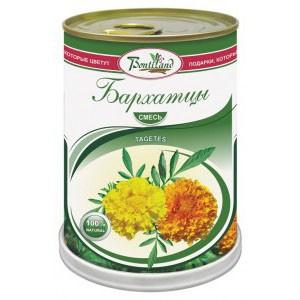 Цветок в банке «Бархатцы»