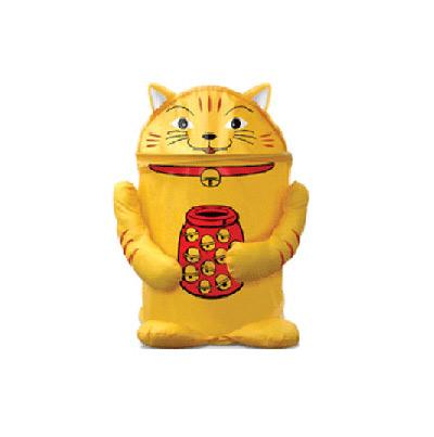 Корзина-кошка для игрушек