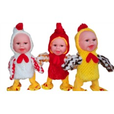 Поющая и танцующая игрушка Цыпленок-кукла
