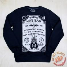 Хлопковый свитшот Bring Me the Horizon