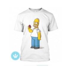 Мужская футболка Гомер Симпсон