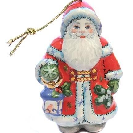 Ёлочная игрушка Санта