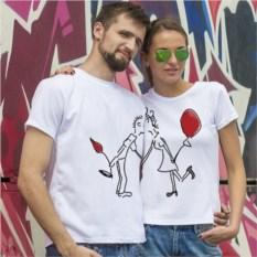 Парные футболки «Тюльпан»