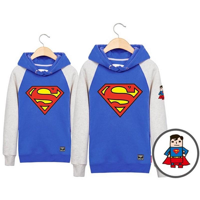 Парные толстовки Супермен