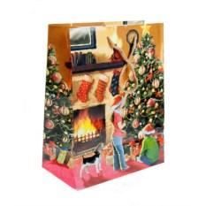 Новогодний пакет Наряжаем елку