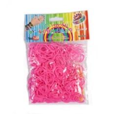 Набор цветных резинок для плетения, 600 шт