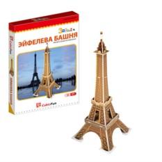 3D пазл Cubic Fun Эйфелева башня (Франция) (мини серия)