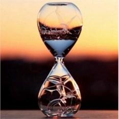 Песочные часы с мыльными пузырями