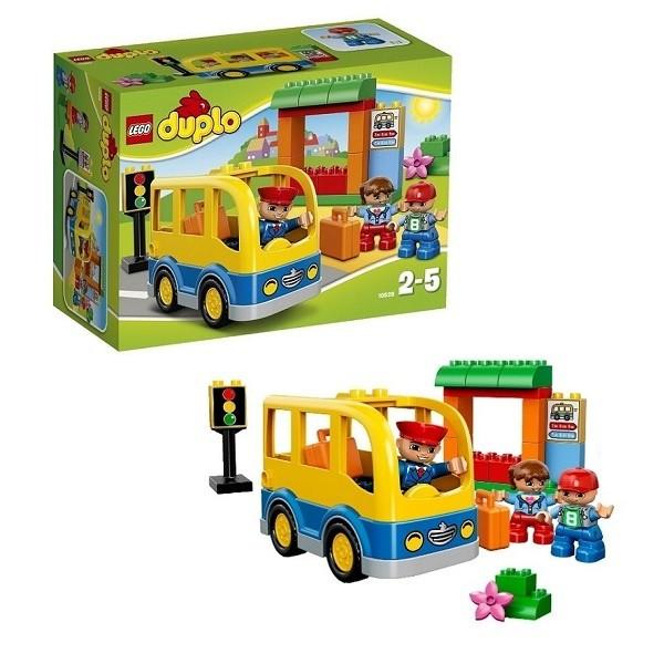 Конструктор - Lego - Школьный автобус