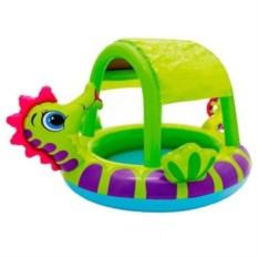 Детский бассейн с навесом Морской конек