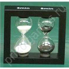 Оригинальные песочные часы на 3 и 5 минут