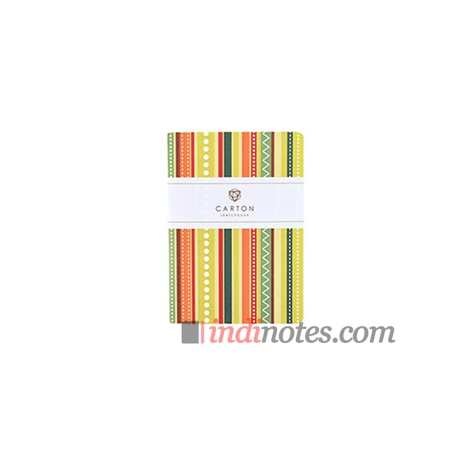 Скетчбук Carton Geometric Sketchbook Stripes А6