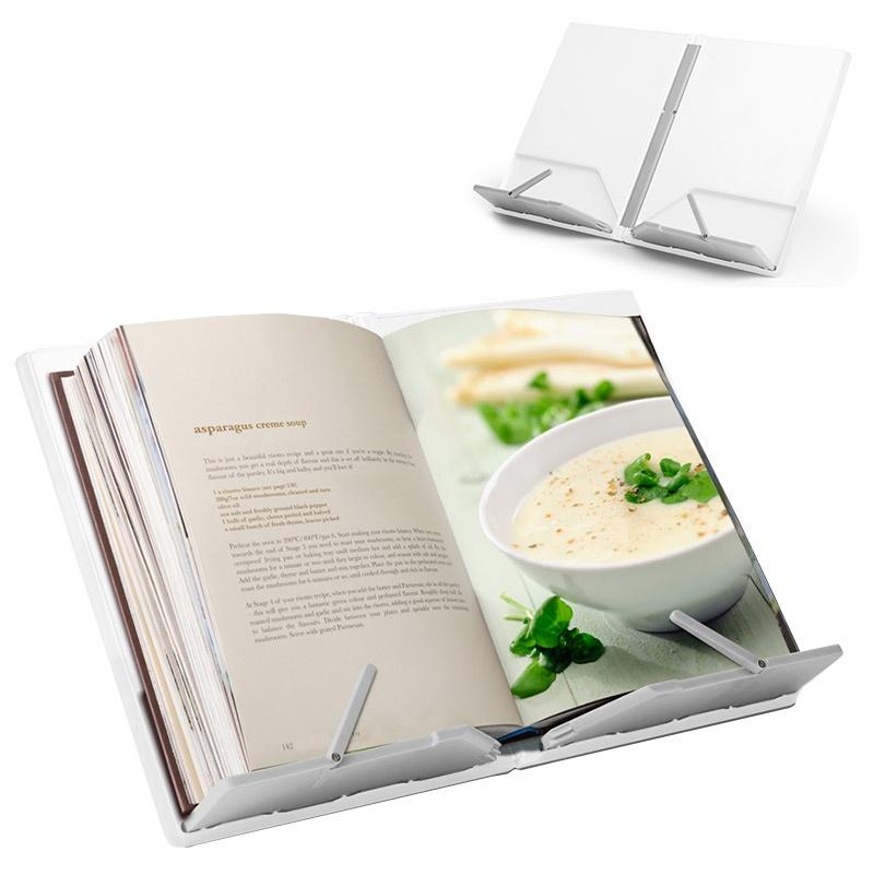 Подставка для кулинарной книги CookBook™, складная, белая