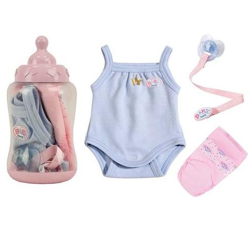 Подарочный набор Бутылочка для куклы Baby Born