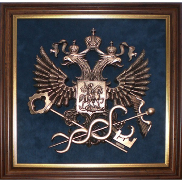 Плакетка Эмблема Федеральной службы по налогам и сборам