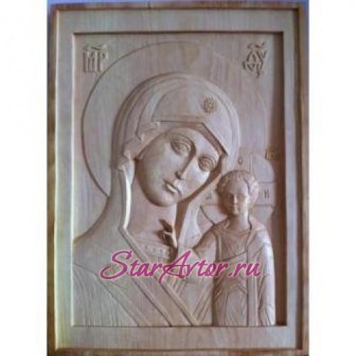 Икона ручной работы «БОГОМАТЕРЬ КАЗАНСКАЯ»