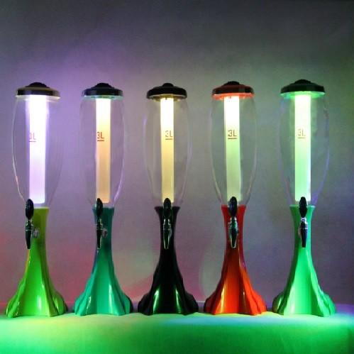Диспенсер для напитков с подсветкой