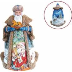 Новогодняя игрушка Дед Мороз (32 см)