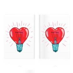 Обложка на паспорт Сердце