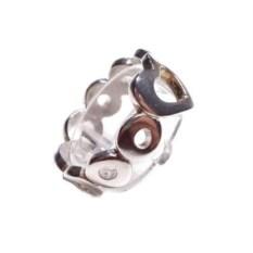 Кольцо Сердце, серебро 925