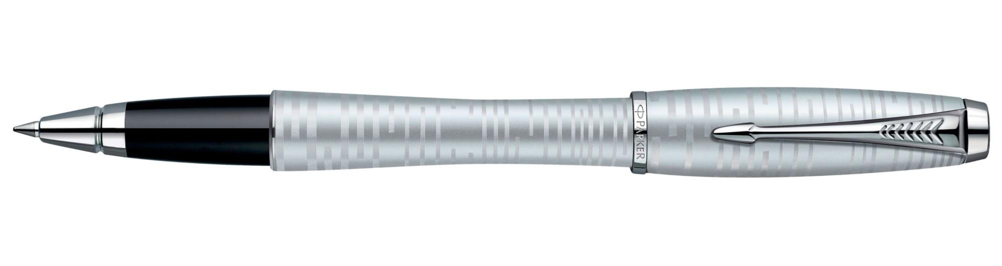 Ручка-роллер Parker Urban Premium Silver-Blue Pearl СT