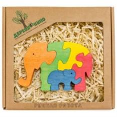 Развивающая игрушка Два слона