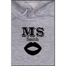 Детская именная толстовка Mr&Mrs Smith