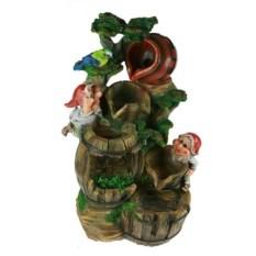 Декоративный фонтан Гномы исследователи
