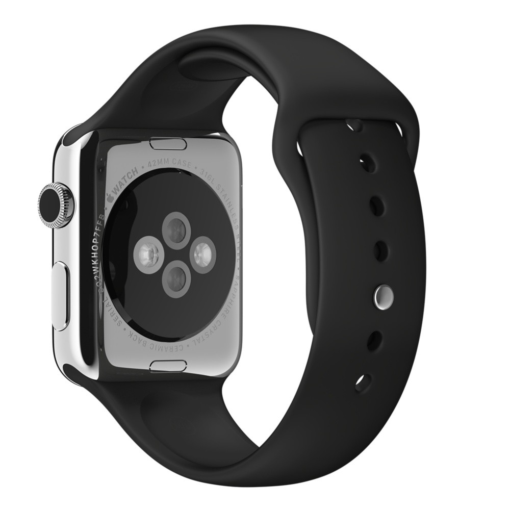 Ремешок Black Sport Band для Apple Watch