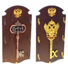 Ключница-панно с гербом Ключ