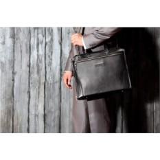 Деловая черная сумка Brialdi Plymouth
