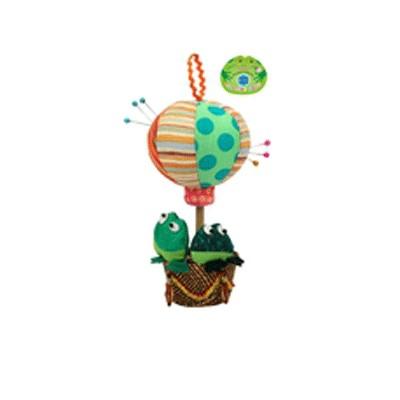 Игольница Лягушки на воздушном шаре