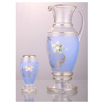 Набор для воды или сока «Амфора, голубой»
