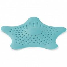 Фильтр для слива Морская звезда, голубой