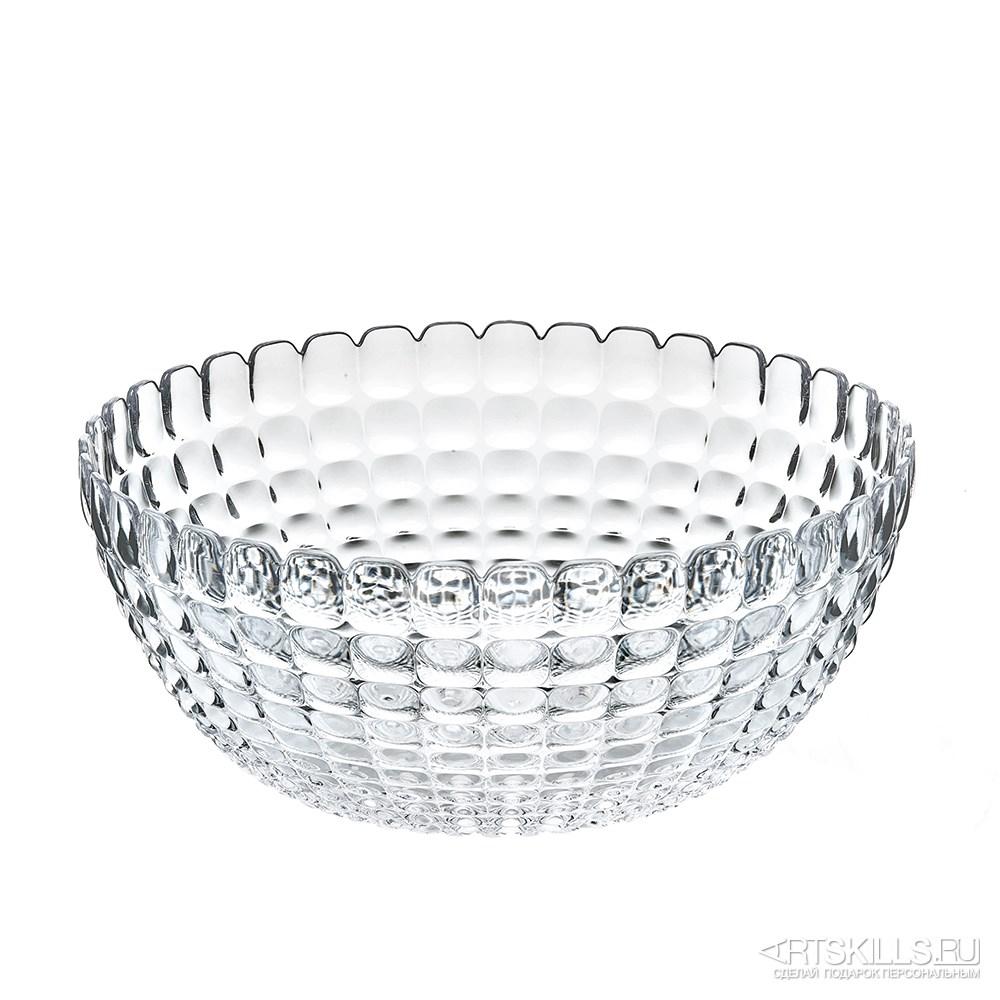 Прозрачная салатница Tiffany l