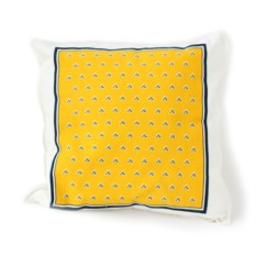 Подушка Summer Pattern (желтая)