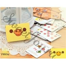 Игральные мини-карты Rilakkuma Tiny (Желтые)